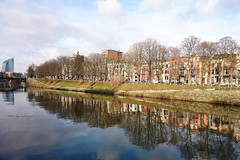 L'Ourthe à Belle Île (Liège 2016) (LiveFromLiege) Tags: liège liege luik lüttich liegi lieja wallonie belgique belgium ourthe belleîle river quaidesardennes