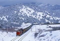 Downgrade into Detour (Moffat Road) Tags: utahrailway utah coaltrain emdmk503 soldiersummit detour wasatchmountains 5001 upprovosubdivision train railroad locomotive ut