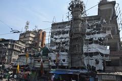 Scaffolding (victoriaei) Tags: india d5300 calcutta kolkata october outdoors streetscenes scaffold scaffolding building street travel indianstreetphotography streetphotography asia nikon