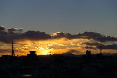 Sundowned (H.H. Mahal Alysheba) Tags: japan twilight fuji tokyo sun light lumix gx7 leicadg elmarit 45mmf28