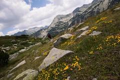 Hiking in the Pirin Mountain Range,  Bulgaria (Jean Ka) Tags: mountain montagne berge gebirge wandern wanderung randonnée hike hiking bulgarien bulgarie българия landscape landschaft paysage outdoor болгария bulgaria