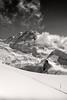The Liskamm Mountain and the Grenzgletscher. ,No. 4527. (Izakigur) Tags: zermatt glacier switzerland matterhorn klein gornergrat trainstation snow white blackwhite schweiz europe ice swiss suizo suisia svizzera view nikon nikond700 nikkor nikkor2470f28 valais wallis kantonwallis cantonduvalais izakigur feel fixyou coldplay