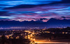 Cold and soft blue hour (Ettore Trevisiol) Tags: nikon landscape friuliveneziagiulia fagagna tramonto sunset bluehour