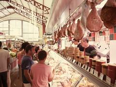 Food market in Biarritz