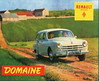Renault Domaine (1958) (andreboeni) Tags: classic french car automobile cars automobiles voitures autos automobili classique francais voiture retro auto oldtimer klassik classico classica publicity advert advertisement renault domaine break estate wagon kombi fregate frégate