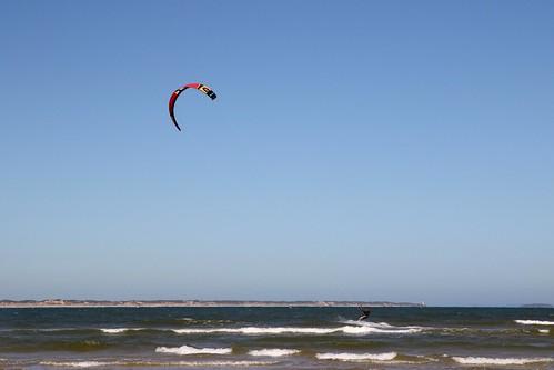 20170122_1117 kite-boarding at Ocean Grove