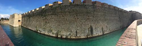 Plaza de Armas de las Muralla Reales in Ceuta, Spain