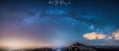 """""""touch the stars"""" (nelly_tran_photography) Tags: pilatus milkyway bow luzern lucerne astrofotography"""