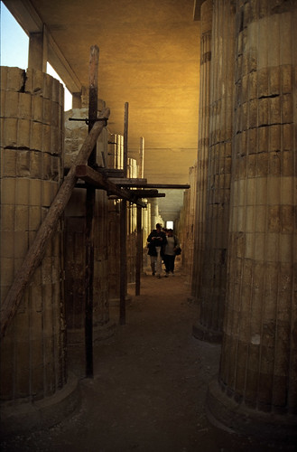 Ägypten 1999 (582) Kairo: Djoser-Pyramide, Sakkara
