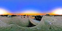 Sunset & Dusk At Sukh Chayn Gardens Home Rooftop Lahore Pakistan - IMRAN™ (ImranAnwar) Tags: 360 dusk family imran lahore pakistan panorama spherical sunset