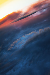 Welcome to the New World (lenanu) Tags: lenanu cloud wolke clouds wolken sunset sunrise sonnenaufgang sonnenuntergang planet new neu fresh frisch color colour farbe colors colours farben atmosphere atmosphäre blue blau red rot yellow gelb abstract abstrakt