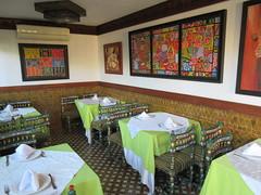 Breakfast room, Riad La Maison Verte, Fez, Morocco (Paul McClure DC) Tags: fez morocco fès almaghrib dec2016 medina feselbali maroc historic architecture