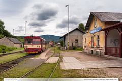 810.026-5 | Os13663 | trať 294 | Staré Město pod Sněžníkem (jirka.zapalka) Tags: train czech cd os stanice rada810 trat294 staremestopodsneznikem