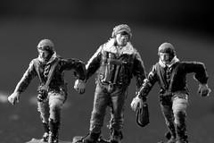 Scramble Lads (SKAC32) Tags: macromondays blackwhite monachrome bw pilots 172