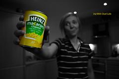 14/365 Chef Life (under_exp0sed) Tags: heinz macaroni macaronicheese coloursplash brand brandnames 365 3652017 food creativefood