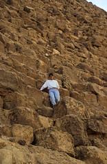 Ägypten 1999 (621) Kairo: Chephren-Pyramide, Gizeh
