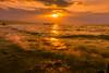 sunset 6416 (junjiaoyama) Tags: japan sunset sky light sun sunshine cloud weather landscape golden contrast colour bright lake island winter wave beams rays