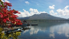 Beautiful Lake Batur, Bali (scinta1) Tags: bali baturbaguscottage beautiful kintamani kedisan kampung keluarga colour colourful lakebatur danaubatur desa mountbatur mountain gunungbatur giri amazing caldera clouds excellent indonesia lake view water waterscape red blue green reflection calm peaceful