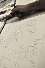 Taller de lettering en Usandizaga