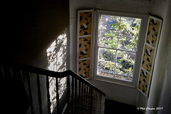 Ray of sunshine (Philthy Lens) Tags: window shadow bounce stairs banister htc sensation z710e daylight bright sunlight