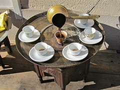 Bosanska kava (vittorio vida) Tags: bosnia bih sarajevo kava bosanska coffee street travel tradition culture balkans cups table