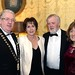 Rosie and Joe Dolan, IHF President with Denis and Martina Goggin, Strangeboat Donor Foundation