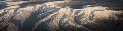 Aerial Panorama Shot (dudeins) Tags: sky mountains snow town sunset awesome panorama plane airplane wow lightroom 35mm sigma nikon d750 damn photography photooftheday pictureoftheday