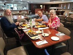 #01Apr17 Lunch Group with Rod, Erik and Anne at the Workingmen's Club #photoaday #2017pad #lunchgram #lunchgroup