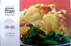 Restaurante Vila Chã (blueilgu) Tags: restaurantevilachã brazil restaurant food ad adcard 광고엽서 브라질 식당