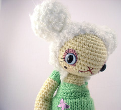 Babette7 (ElisabethD) Tags: cute stuffed doll vampire softie amigurumi crocheted gourmetamigurumi messagetopretty
