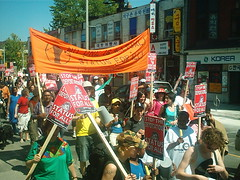 No One Is Illegal  National Day of Action - Toronto March, Saturday May 27, 2006 - 034 (HiMY SYeD / photopia) Tags: people toronto march civilrights socialjustice workersrights nooneisillegal immigrantrights