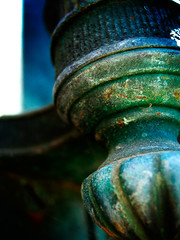 krause. (dearsomeone) Tags: macro feet cemetery metal bar rust iron decay under oxidation six dearsomeone