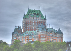 Hdr-Castle (Etolane) Tags: castle beautiful clouds wow hotel interestingness quebec topv1111 surreal explore fantasy chateau nuages foire hdr frontenac htel fairmontlechteaufrontenac htellechteaufrontenac
