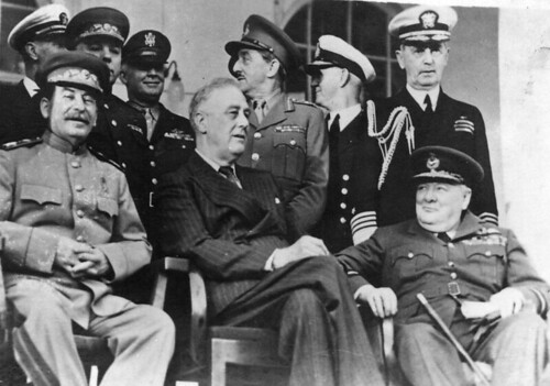 The Big Three, Tehran Conference 1943 | Flickr - Photo Sharing!