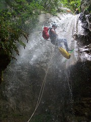 A little bit of water (EugeniaF) Tags: italy water waterfall top20action spoleto forra canyoning umbria torrentismo top20sports top20water valnerina cascodellacqua