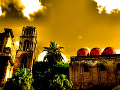Palermo and his churches (Martorana) (Giampaolo Macorig) Tags: painterly church chiesa sicily palermo sicilia chiese martorana