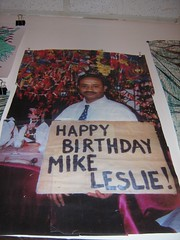 Happy Birthday Mike Leslie!