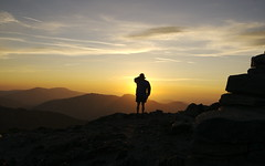 Snowdon - Watching The Sunrise - by Eifion