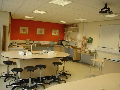 Science Lab, Matthew Boulton Campus, Birmingham Metropolitan College