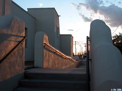 Ysleta del Sur at sunset (Ale*) Tags: tag3 taggedout tag2 texas tag1 border ale elpaso mission nativeamericans riogrande riobravo isleta thecontinuum elpasodelnorte isletadelsur