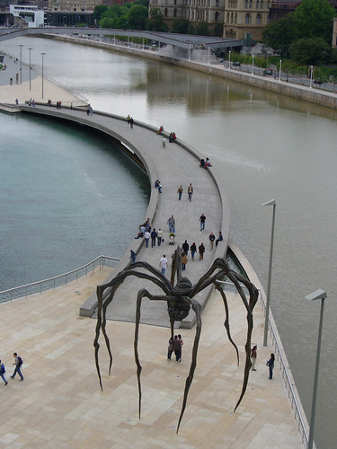 El Museo Guggenheim en Bilbao
