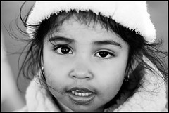Daughter of a Pacifica, Ca Fisherman (SaundraG) Tags: california portrait blackandwhite bw kids female canon children kid fisherman child pacific feminine daughter 2006 pacifica chromosome saundrag xxchromosome