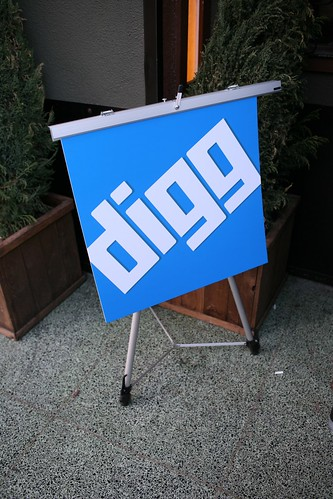 Digg Party Sign, by Scott Beal - LaughingSquid.com