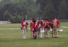 Redcoats (beccaxsos) Tags: history virginia williamsburg colonialwilliamsburg reenactment livinghistory dukeofgloucesterstreet williamsburgvirginia undertheredcoat