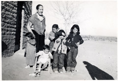 """Luisa, Dina de Enedina y 4 ninos de Consuelo ((Concepts by) Nicholas Daniel """"@tak"""" Lopez) Tags: california old family mexico grandmother photos pics sister brother uncle father great grandfather mother historic aunt scanned historical cousin relatives greatgrandmother"""