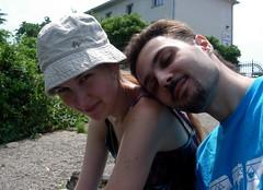 deux la vie est plus douce (alibaba0) Tags: summer love me couple friendship moi amour summertime tenderness tendresse amiti douceur noemie bruel patrickbruel nomie gabin chansonfranaise jeangabin modelfriends alibaba0