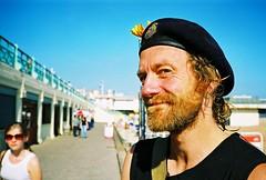 good beard (lomokev) Tags: portrait man male beach hat john beard brighton dof depthoffield moustache contax cap mustache agfa ultra t2 agfaultra contaxt2 пляж deletetag johnsc roll:name=contaxt20606a file:name=contaxt20606a90