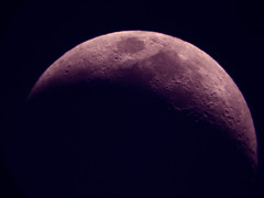 RED (OLDSKOOLDAVE) Tags: red moon sony sydney telescope top20moonshots moonshot dscw5 900mm