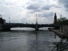 Stockholm (mikestuartwood) Tags: bridge river sweden stockholm
