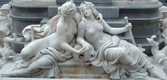 Brunnenschoenheiten (ernst_raser) Tags: woman love fountain arts marble fountains sappho sculptures marmor skulpturen